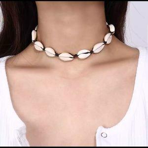 5/$12 💞 Boho Style Beach Shell Choker Necklace